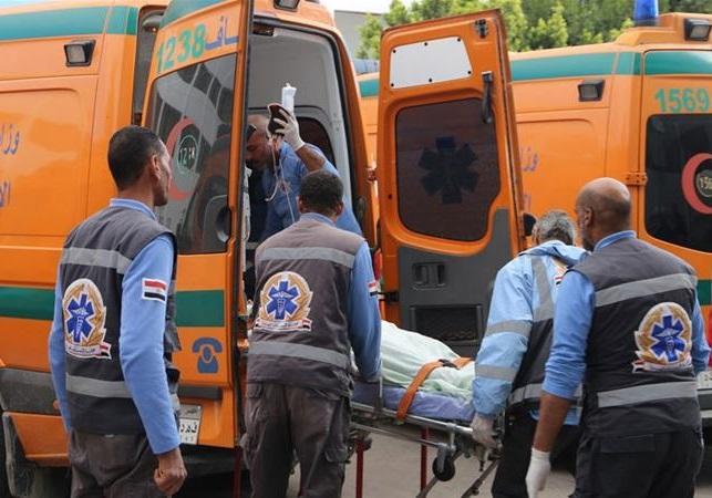 نیروهای امدادی مصر