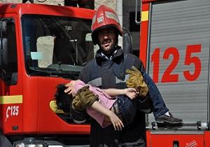 نجات ۴ نفر با تلاش آتش نشانان همدانی