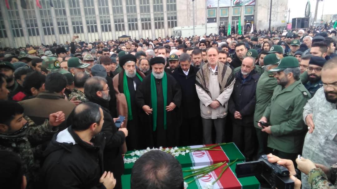 آغاز مراسم تشییع شهدای سانحه هواپیمای اوکراینی