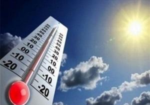 افزایش تدریجی دما در همدان