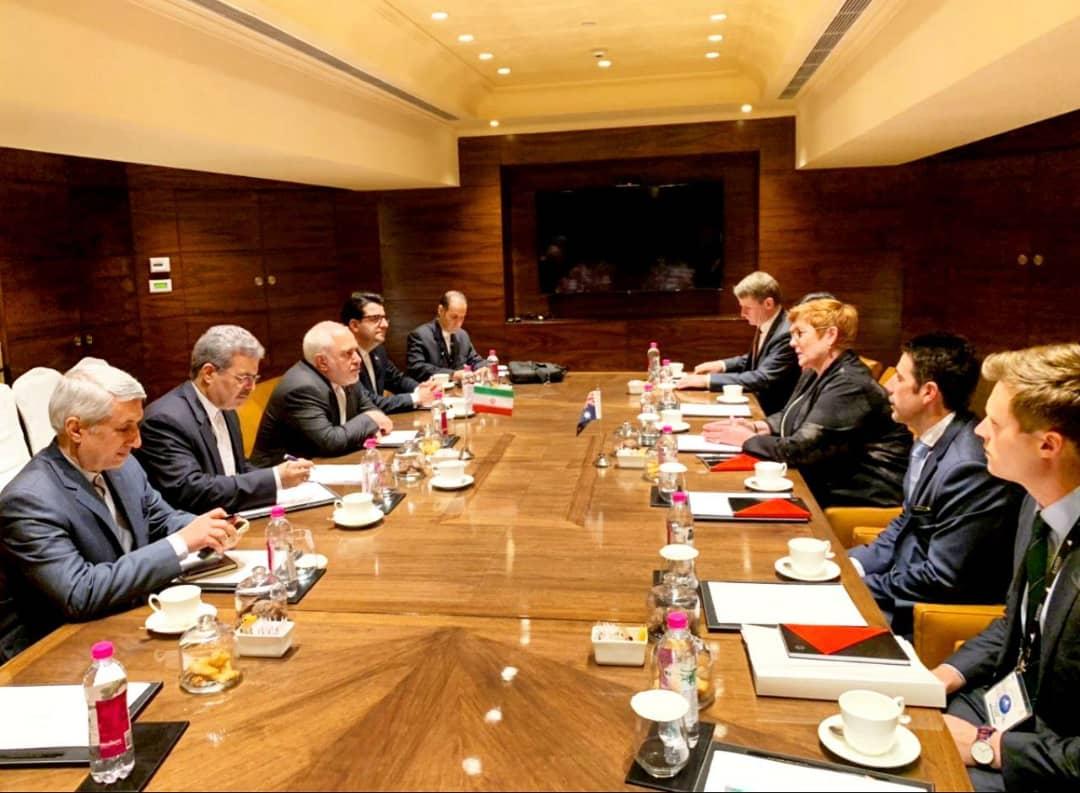 رایزنی وزرای خارجه ایران و استرالیا