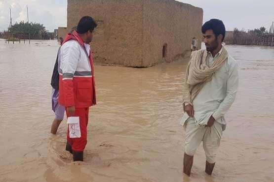 استمرار امدادرسانی هوایی به مناطق سیل زده جنوب سیستان و بلوچستان