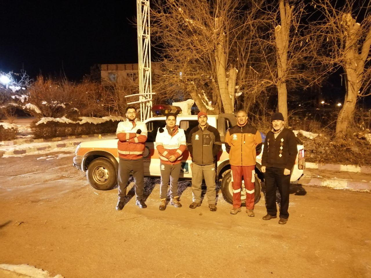 اعزام یک تیم هلال احمر از قوچان به مناطق سیل زده جنوب و جنوب شرق کشور