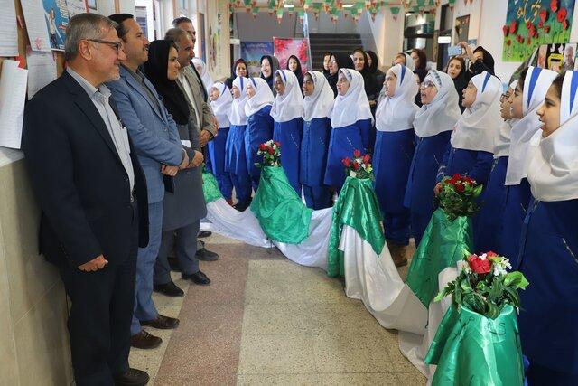 اجرای طرح گلستان در مدارس شیراز