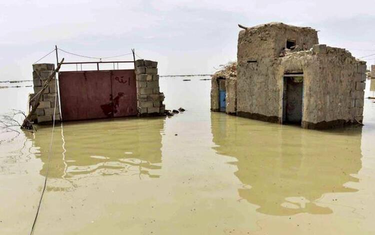 راه ارتباطی ۳۳ روستای سیلزده سیستان و بلوچستان همچنان بسته است