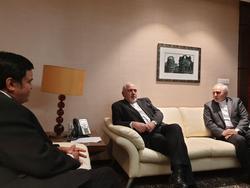 دیدار محمد جواد ظریف با بازرگانان هندی و ایرانی