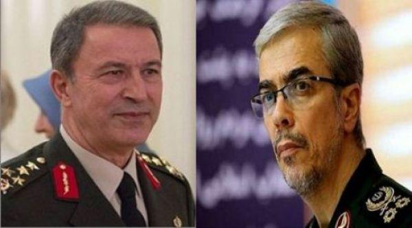 گفتوگوی وزیر دفاع ترکیه در تماس با سرلشکر باقری خواستار تلاش مشترک برای جلوگیری از توسعه تنشها در منطقه شد