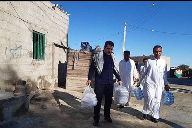 پخت و توزیع ۲ هزار پرس غذای گرم بین سیل زدگان سیستان و بلوچستان