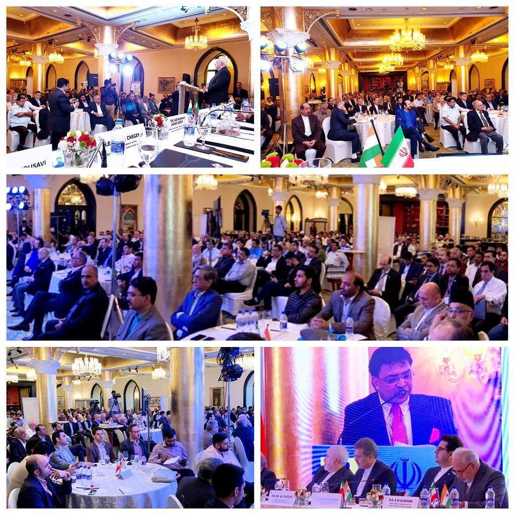 دیدار ظریف با بازرگانان هندی و ایرانی