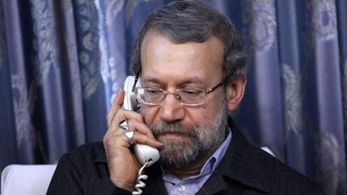 علی لاریجانی با نماینده آیت الله سیستانی تلفنی گفتوگو کرد