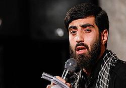 شعرخوانی سید رضا نریمانی در مراسم پیش خطبه نماز جمعه تهران + فیلم