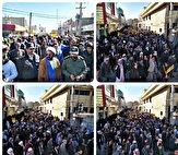11215806 188 راهپیمایی شهروندان و مردم شهر ولایتمدارسیستان وبلوچستان در حمایت از اقتدار و همچنین صلابت نظام در برابر آمریکا