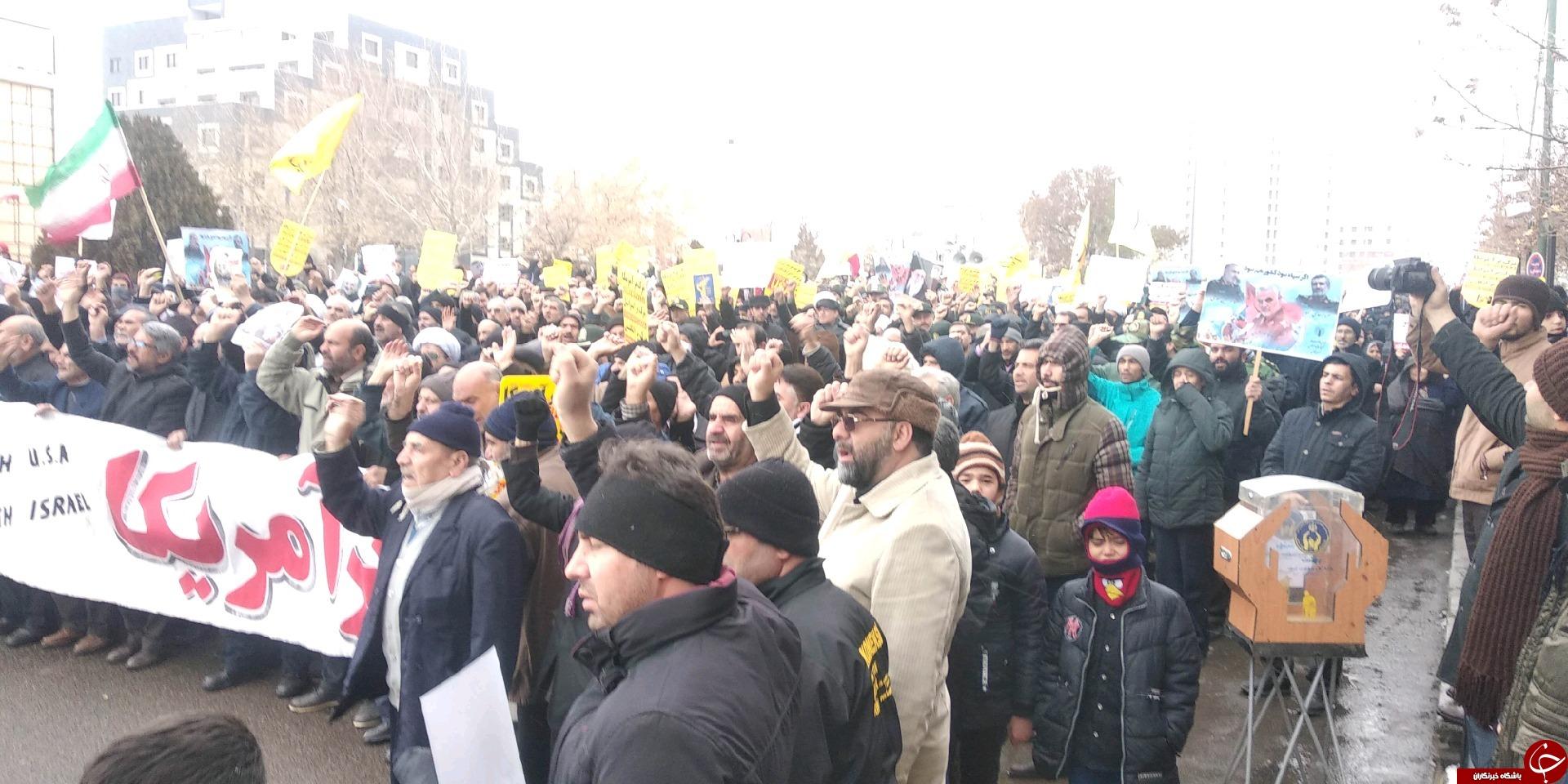حمایت مردم ولایت مدار زنجان ازنظام مقدس جمهوری اسلامی ایران+تصاویر