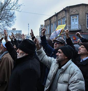 خروش مردم آذربایجان شرقی در حمایت از اقتدار سپاه