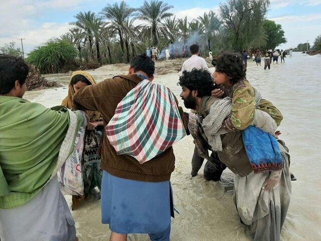 حضور ۵۹ تیم عملیاتی از ۷ استان کشور در مناطق سیلزده جنوب سیستان وبلوچستان