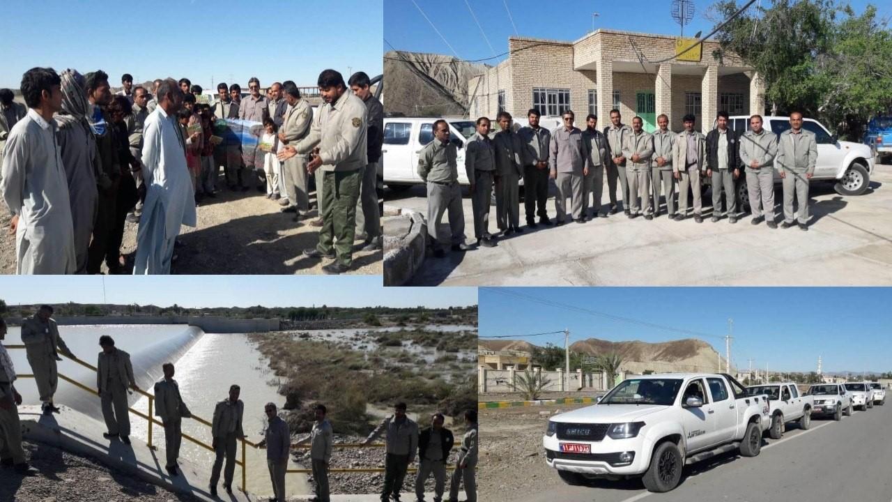 آموزش به سیل زدگان بلوچستان در خصوص مقابله با خطرات احتمالی حمله حیات وحش