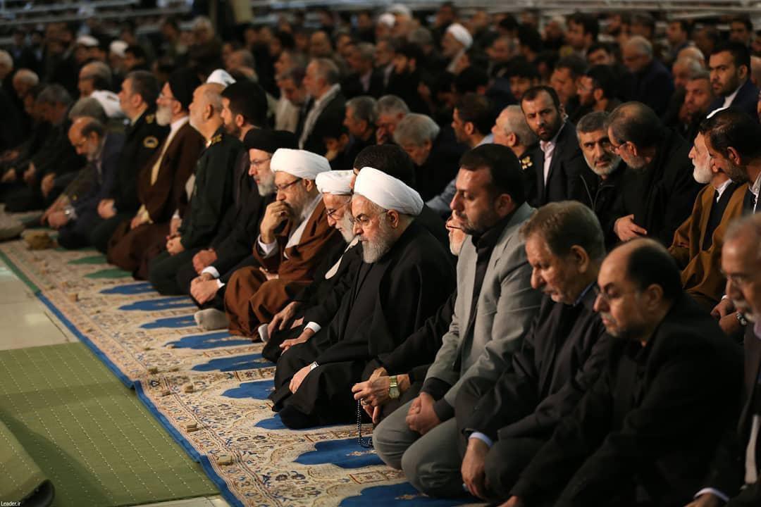 بسته تصویری از حضور مسئولین در نماز جمعه این هفته تهران