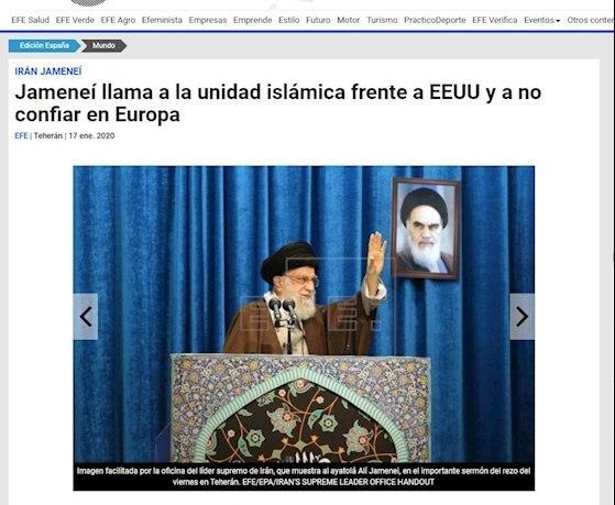 خبرگزاری اسپانیایی افه