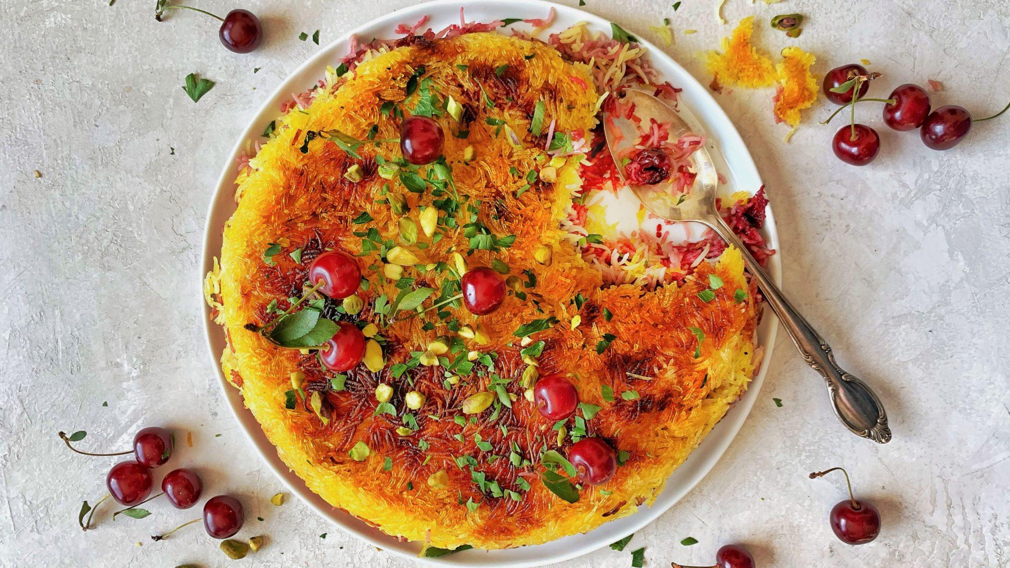 ۵ طرز تهیه ته دیگ سیب زمینی برنج و ماکارونی، ته دیگ ماستی، کاهو، طرحدار و …