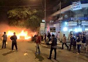 وقوع ۴ انفجار متوالی در مرکز بغداد