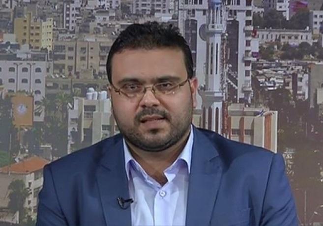 حازم قاسم، سخنگوی جنبش مقاومت فلسطین