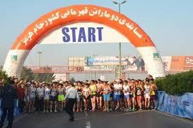 نایب قهرمانی دونده اسدآبادی در دوی ماراتن هرمز