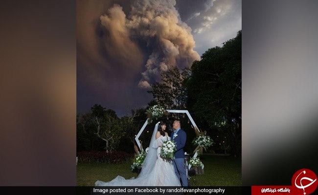 صحنه ای از یک جشن عروسی که کاربران را شوکه کرد!