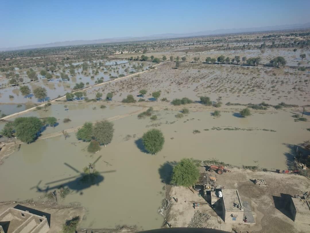 امدادرسانی به سیلزدگان سیستان و بلوچستان