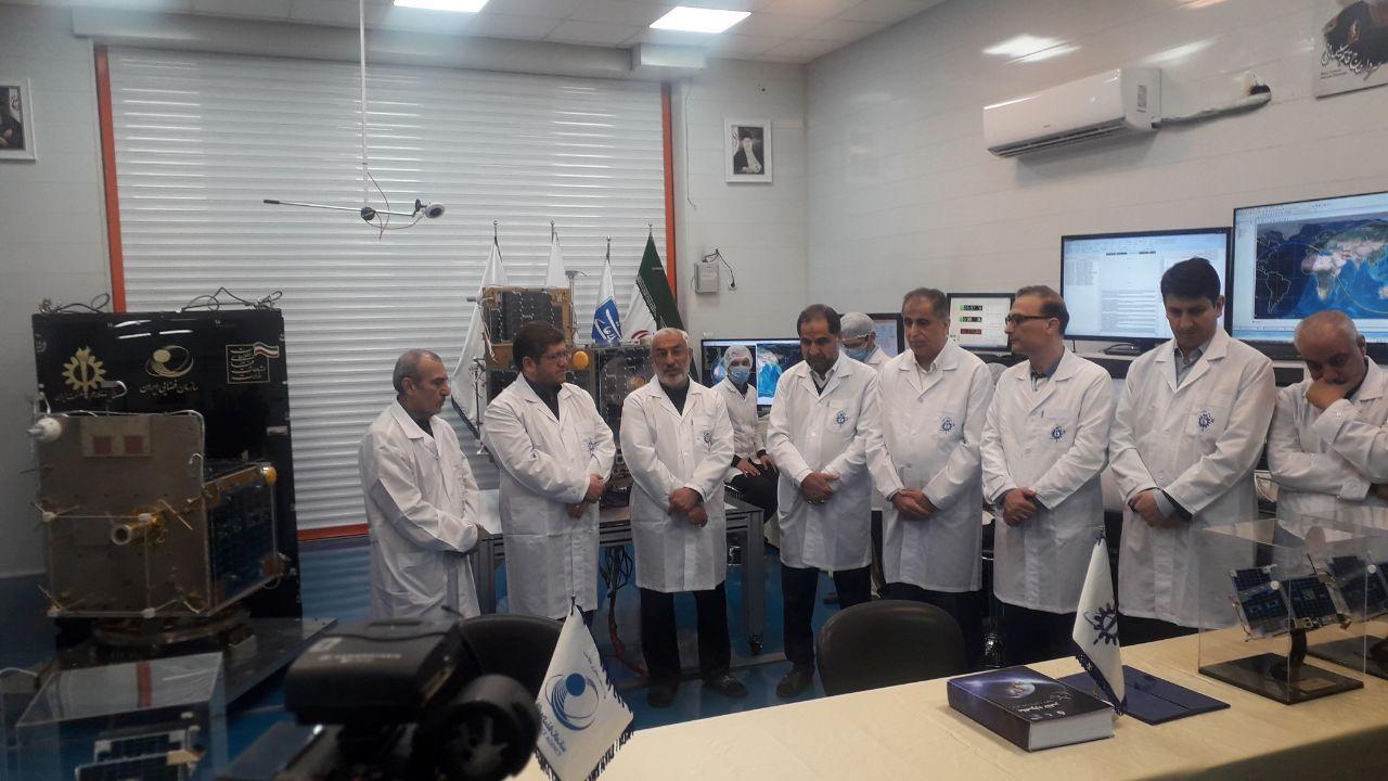 ماهواره ظفر به سازمان فضایی ایران تحویل داده شد