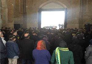 وداع با صفویه شناس برجسته در قزوین
