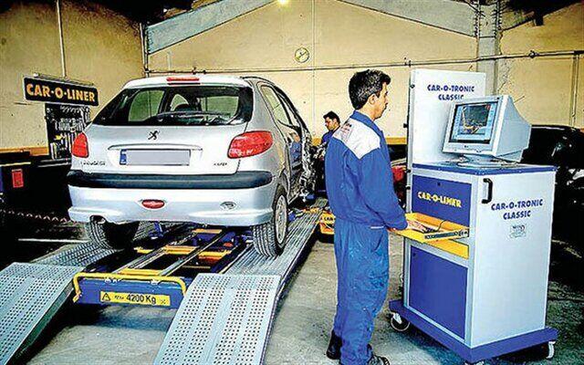 معاینه فنی رایگان خودروها امروز در زرندیه