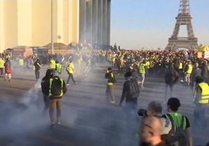 اعتصابهای کارگری دامنگیر رئیس جمهور فرانسه شد + فیلم