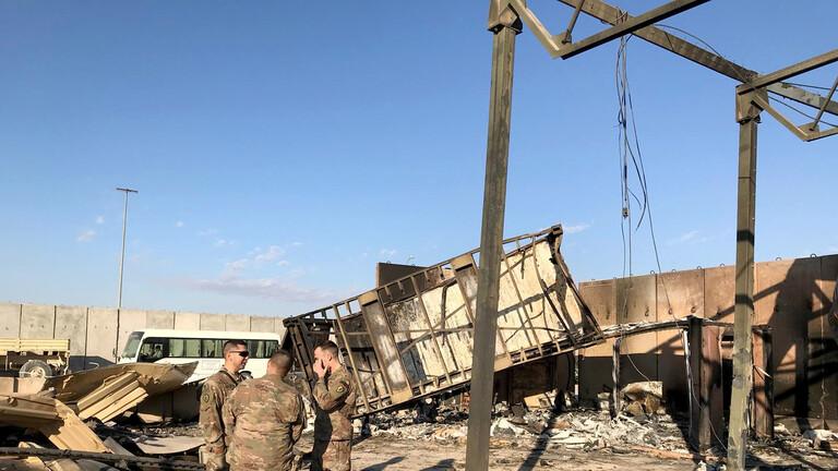 تصاویر شبکه آر تی روسیه از داخل پایگاه عین الاسد