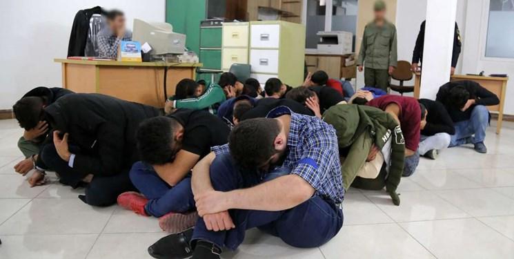 دستگیری ۱۲ جوان گرفتار شده در شرکت هرمی