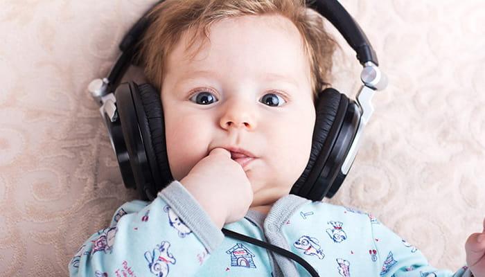 تاثیرات موسیقی بر نوزاد