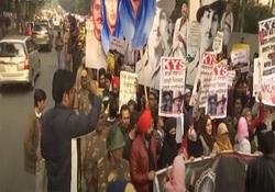 تظاهرات دانشجویان هندی