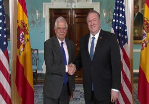 پمپئو و بورل درباره ایران گفتوگو کردند