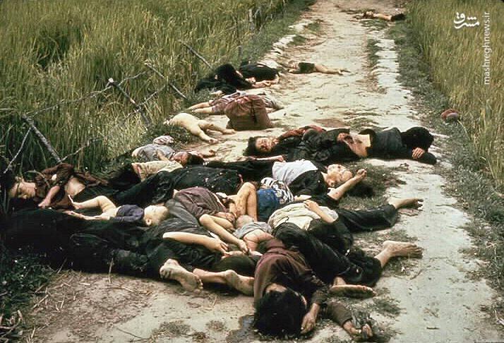کارنامه درخشان ارتش آمریکا در مالهکشی تلفات؛ از My Lai تا عین الاسد/ «ضربه مغزی آرام» با شیب ملایم تبدیل به سوختگی و جراحت شدید شد +عکس