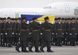 باشگاه خبرنگاران - تشییع جان باختگان سقوط هواپیمای اوکراینی در کیف + فیلم