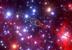 تشکیل یک ستاره جدید توسط سیاه چاله
