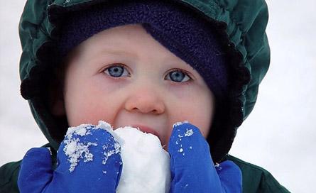 مصرف برف