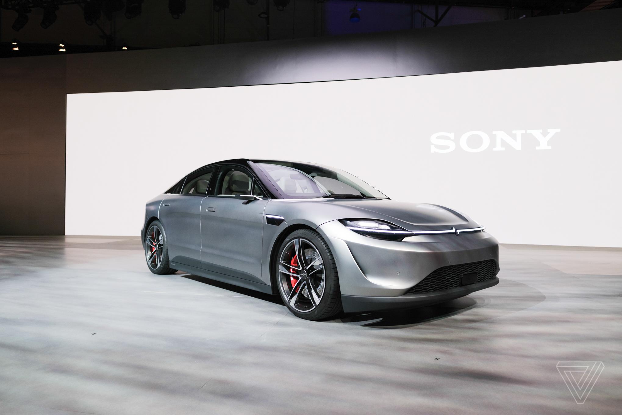 شرکت سونی از طرح مفهومی خودرو هوشمند خود رونمایی کرد