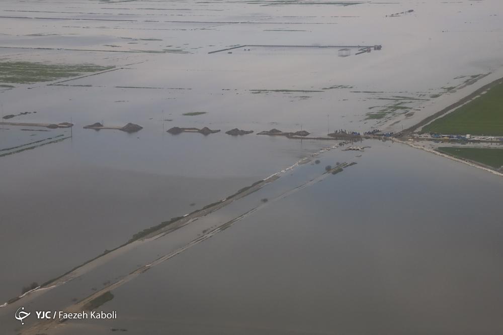 تغییر جبهه آبوهوایی ایران/ بارندگیهای امسال بیش از حد متوسط سالیانه بوده است