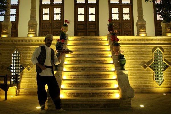 تماشای معماری ایرانی در عمارت یزدان پناه + تصاویر