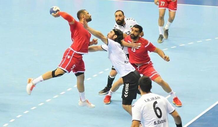 تیم ملی هندبال ایران - کویت / گزارش لحظه به لحظه