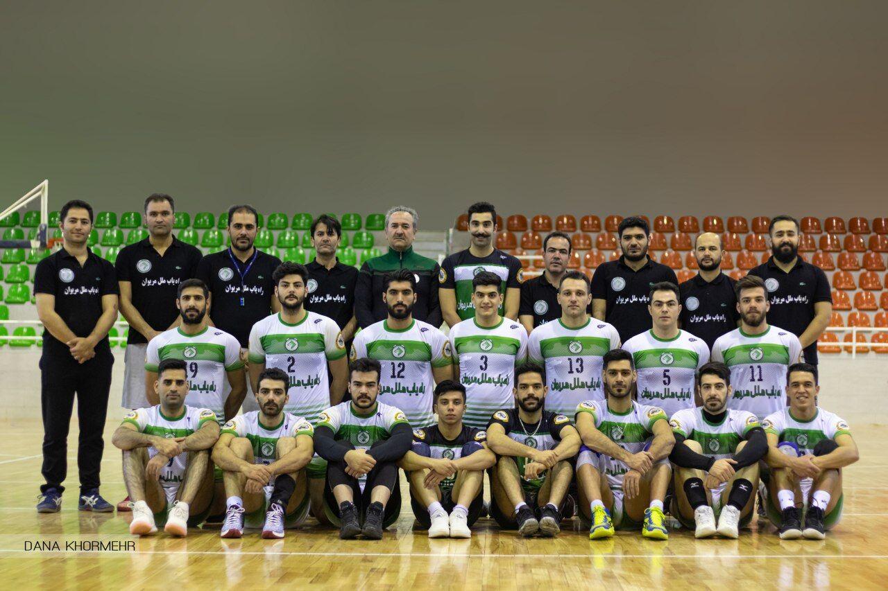 پیروزی والیبالیست های کردستانی