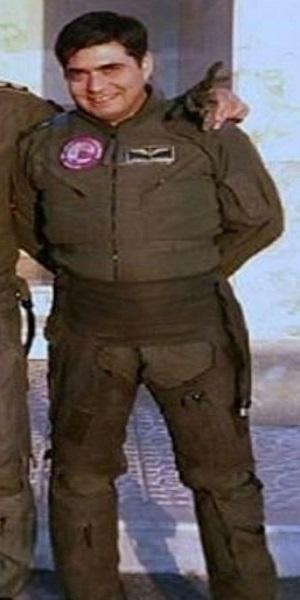 تصویر خلبان شهید سانحه اردبیل