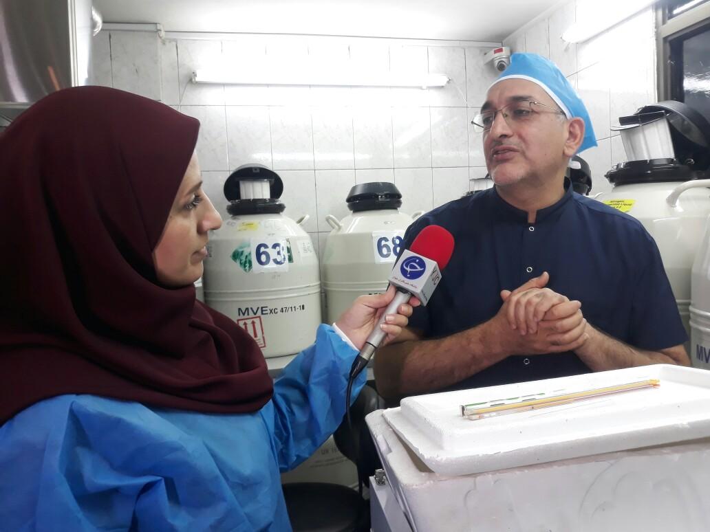 استان اصفهان رکورد دار فریز جنین در منطقه غرب آسیا