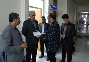 بازدید سرزده رئیس کل دادگستری گلستان از دادگستری بندرترکمن