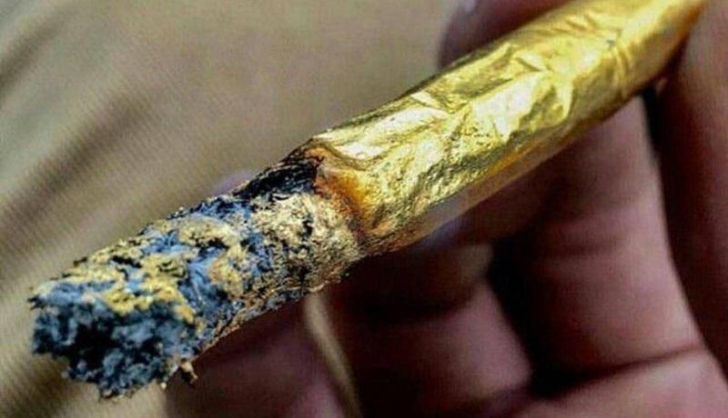 سیگار طلا